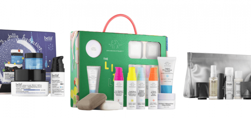 Best of Sephora Gift Sets 2017 #saveeandsavory #christmas #sephora #giftsets #beauty #haircare #skincare #stockingstuffers