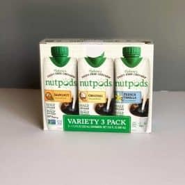 Nutpods - The Non-Dairy Creamer Alternative #saveeandsavory #review #nutpods #dairyfree #vegan #whole30 #kickstarter #nutpods