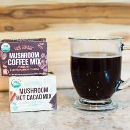 Four Sigmatic- Mushroom Coffee & Hot Cocoa Review #saveeandsavory #foursigmatic #hotcocoa #mushroomcoffee #foursigmaticreview #coffeealternative jpg
