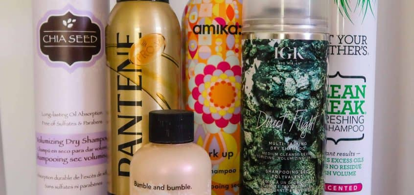 Trying All The Dry Shampoo: A Comprehensive Review