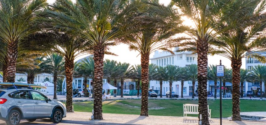 A Sunny Morning In Seaside Florida